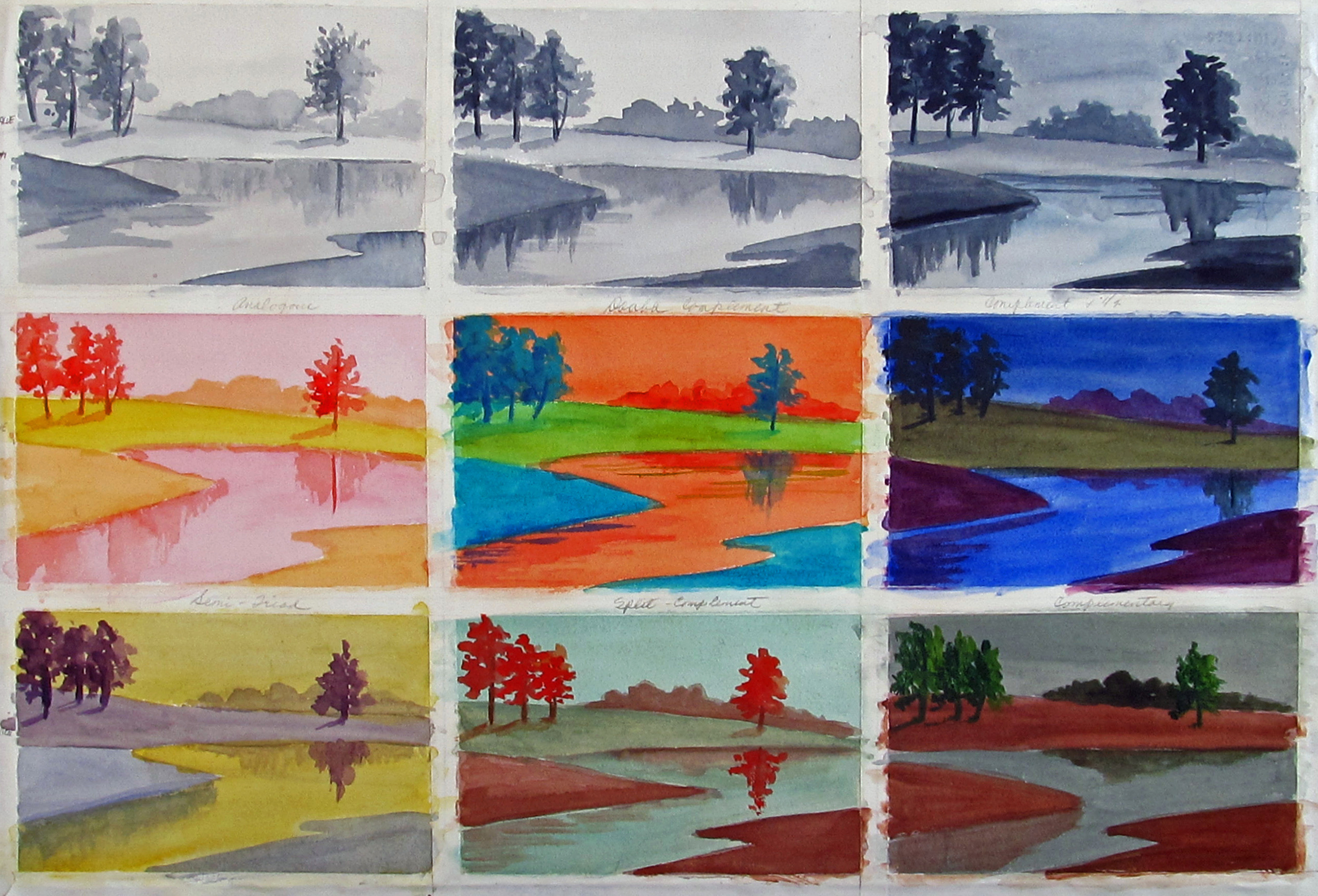 Complementary Colors Stafford Artworks