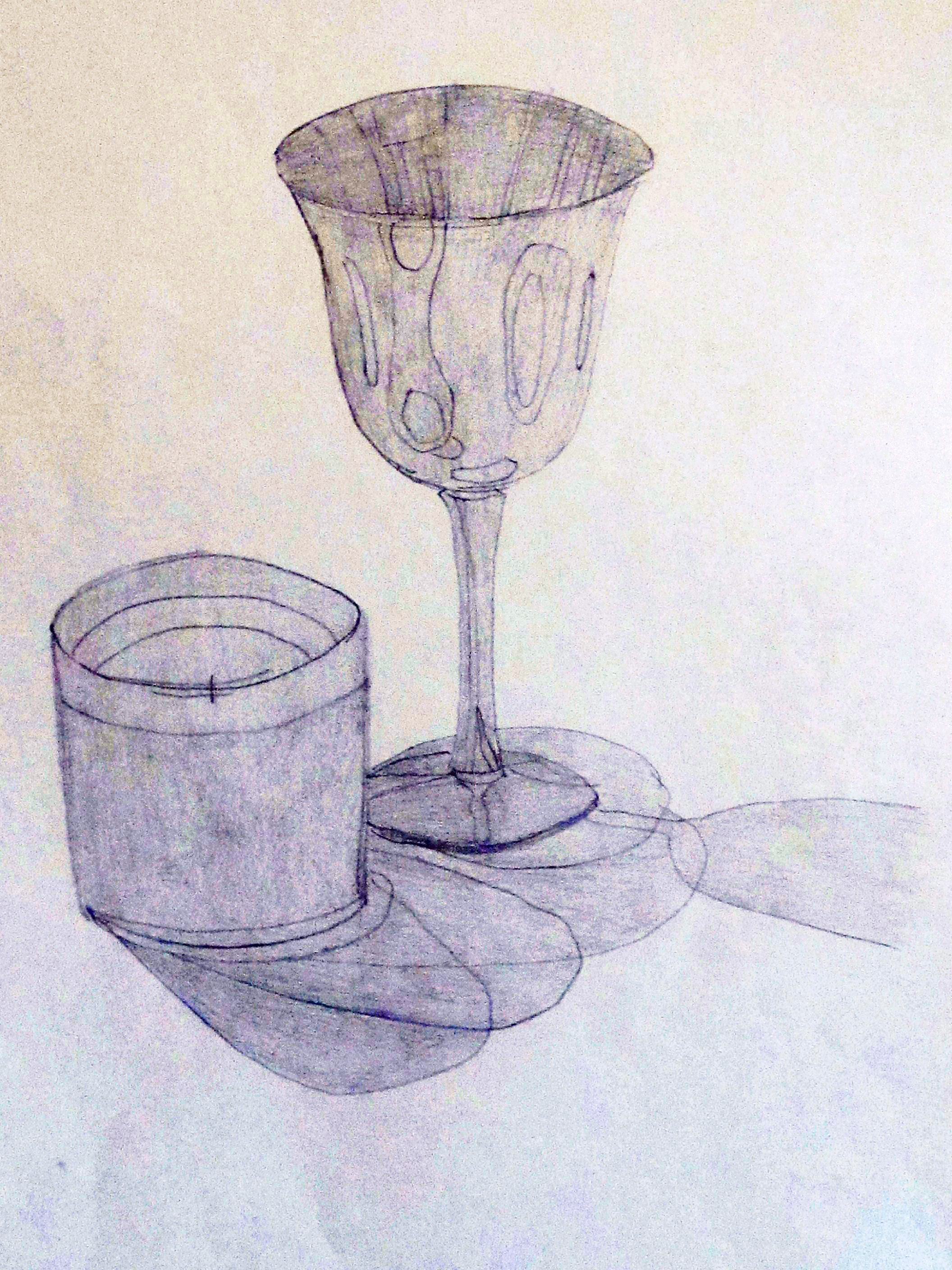 Scribble Drawing Of Objects : Object drawing stafford artworks